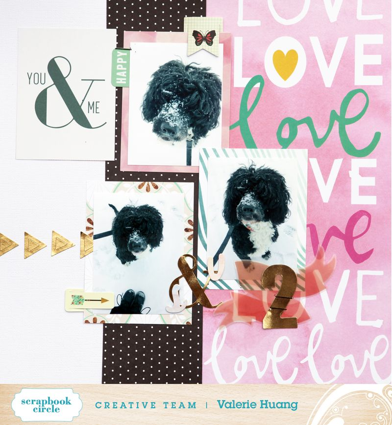 Valerie Huang SBC March kit You and me